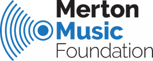 Type logo for Merton Music Foundation