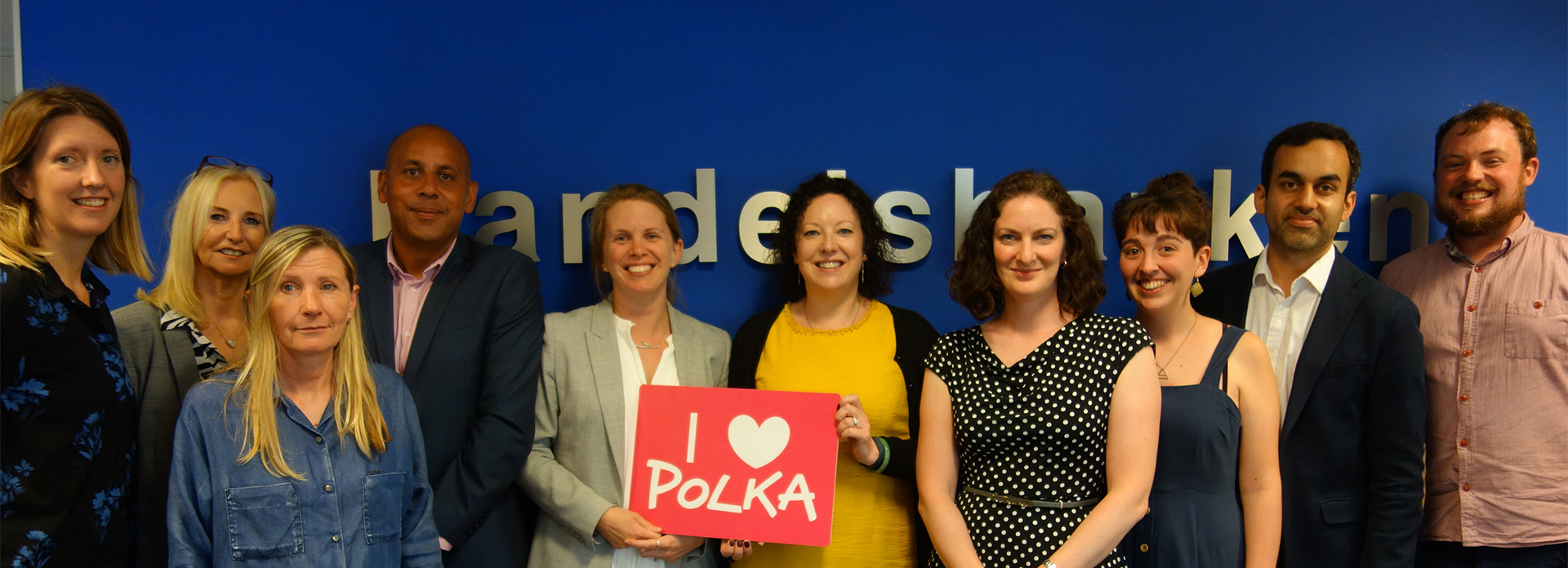 polka staff and corporates