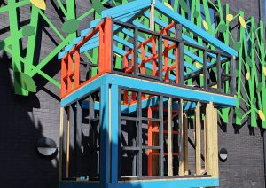 Re-development April 2021 Photo Lynette Shanbury Courtyard
