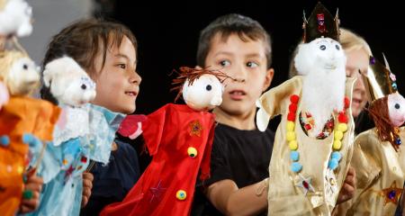 Polka Puppets